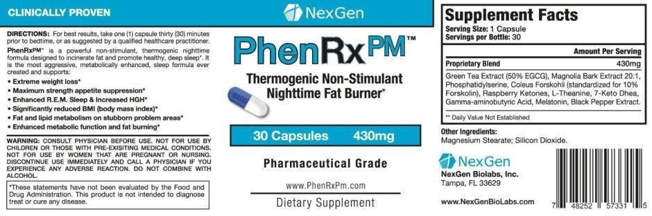 buy phenrx pm online